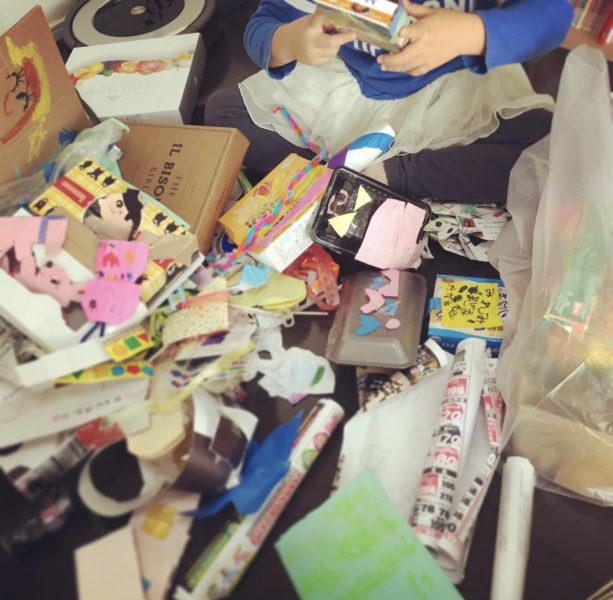 子供の作品整理